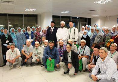 Tataristan'dan ilk grup Hacca gitti