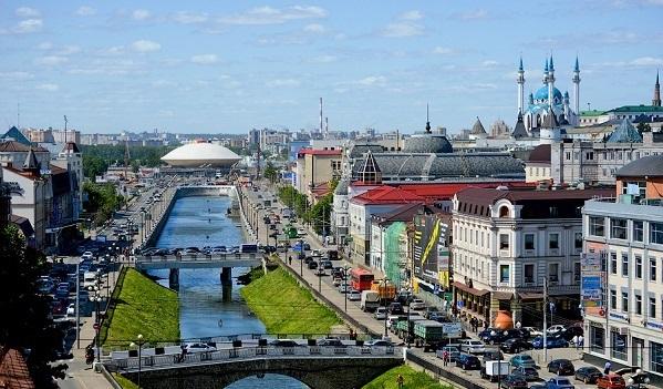 """Kazan Rusya'nın """"en nazik"""" şehirleri arasında"""