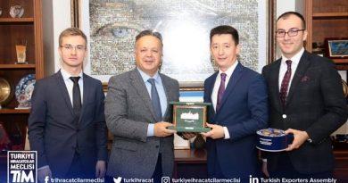 Tataristan Cumhuriyeti Türkiye Yetkili Temsilciğinden TİM'e ziyaret