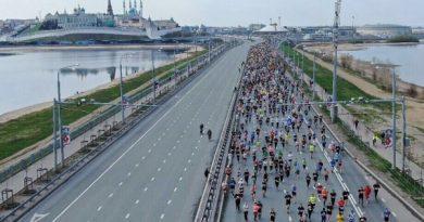 Kazan Maratonu'na 25 binden fazla sporcu katıldı
