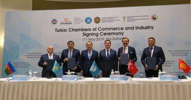 Türk Konseyi ülkeleri arasında Türk Ticaret ve Sanayi Odası kuruldu