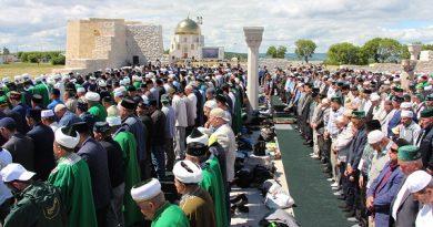 """Tataristan'da """"İzge Bolgar Cıyını"""" düzenlendi"""