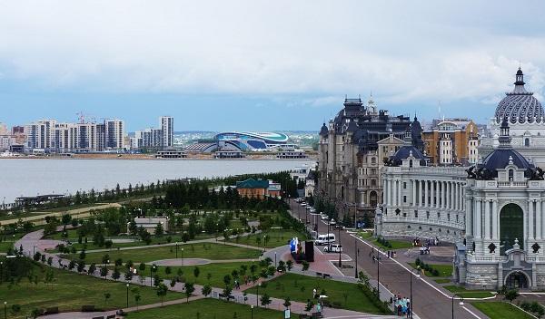 Kazan Rusya'nın en kültürel ikinci şehri
