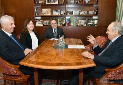 Tataristan'ın ilk Cumhurbaşkanı Türkiye'nin yeni Başkonsolosunu kabul etti