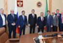 Tataristan Cumhurbaşkanı ENKA ve Siemens yöneticileri ile görüştü