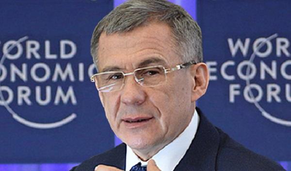 Tataristan Cumhurbaşkanı Davos'taki Dünya Ekonomik Forumu'na katılacak